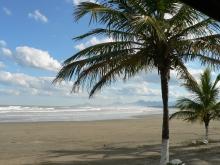 Foto strand Itanhaém-SP, Brazilië