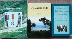 Foto van de drie boeken