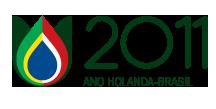 Logo van Jaar van Holland in Brazilië
