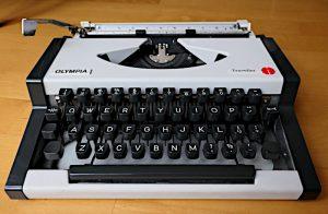 Foto van Olympia Traveller typemachine