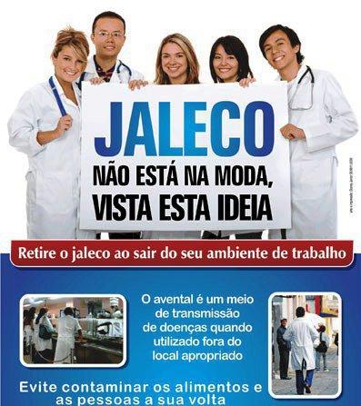 Poster campagne tegen doktersjassen op straat