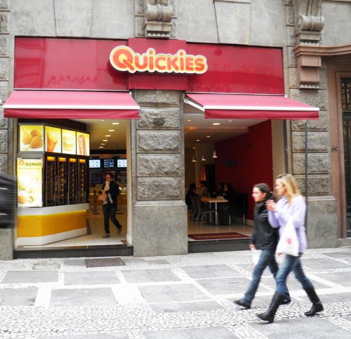 Snackbar Quickies in São Paulo