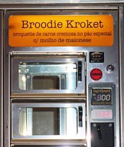 De vakjes met 'Broodie Kroket'