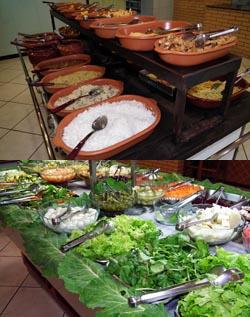Foto maaltijdbuffet