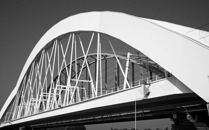 Bogen van bruggen Utrecht