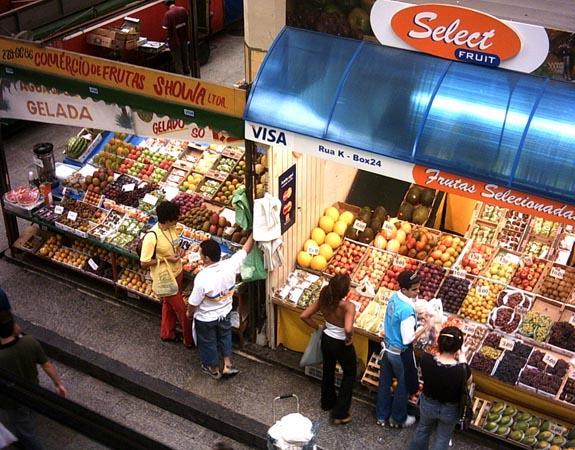 Foto fruitmarkt