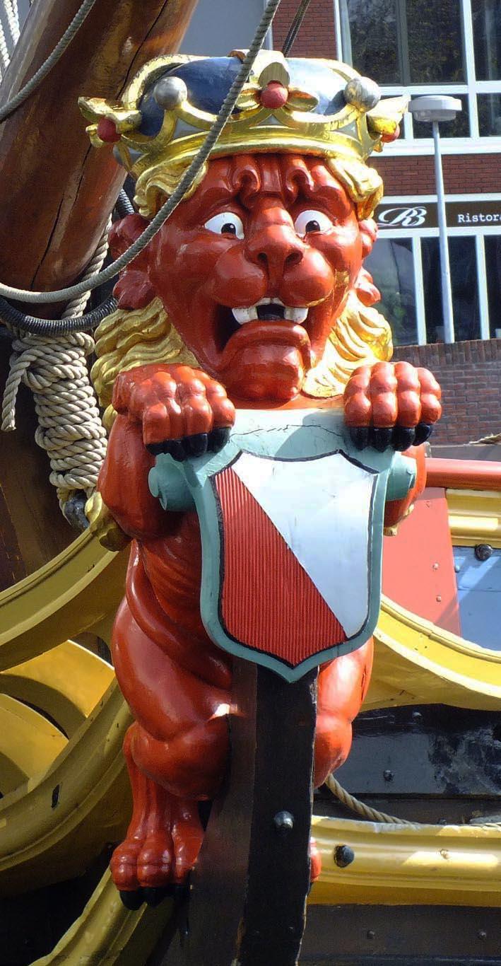 Boegbeeld Statenjacht 'De Utrecht'