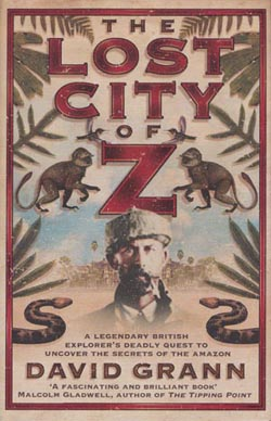 Omslag boek 'The lost city of Z'