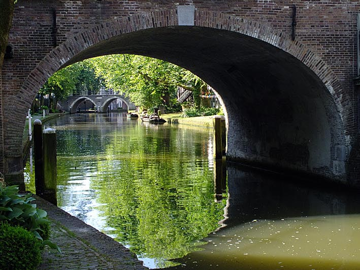 Bruggen Oudegracht, Utrecht