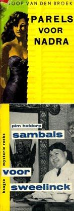 Omslag Parels voor Nadra en Sambals voor Sweelinck