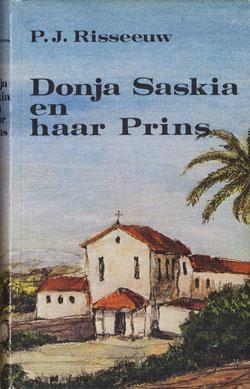 Omslag boek Donja Saskia en haar prins