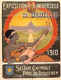 Poster van de opening van het museum