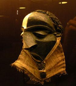 Foto masker uit Afrika