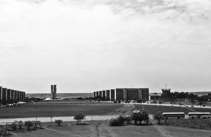 Foto van regeringscentrum Brasília