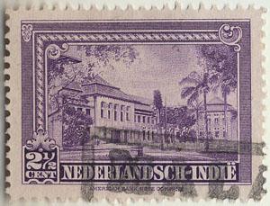 Afbeelding postzegel uit Nederlandsch Indië