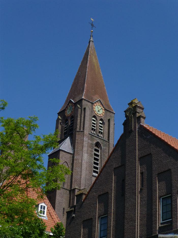 Foto van toren Gertrudiskerk Utrecht