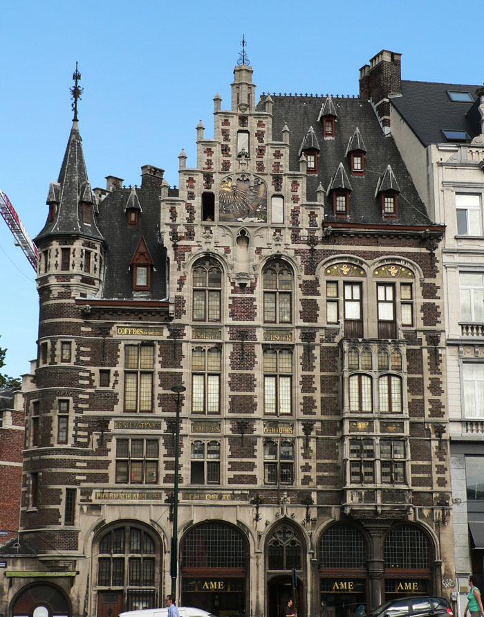 Foto van fraai gebouw in Brussel