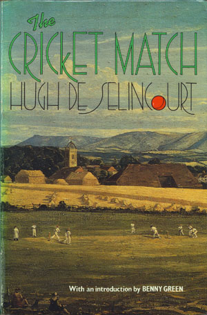 Omslag boek 'The cricket match'