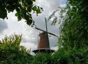 Foto van windmolen