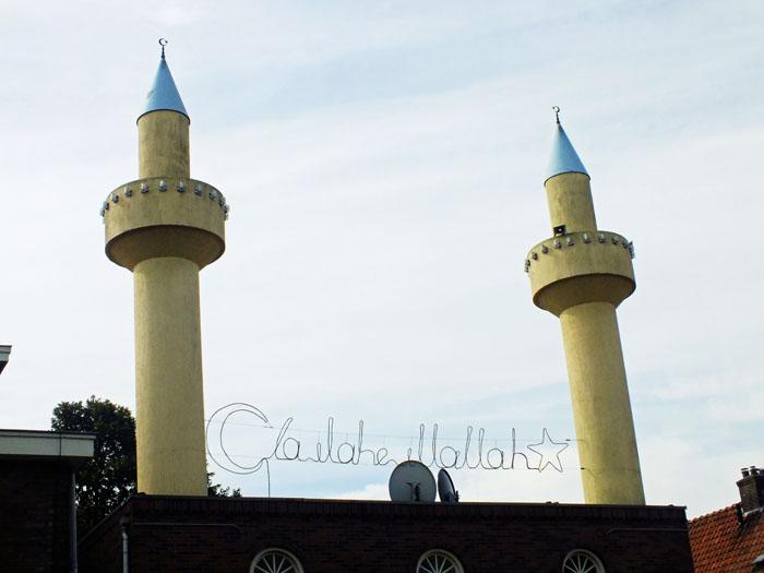 Foto moskee in Terborg