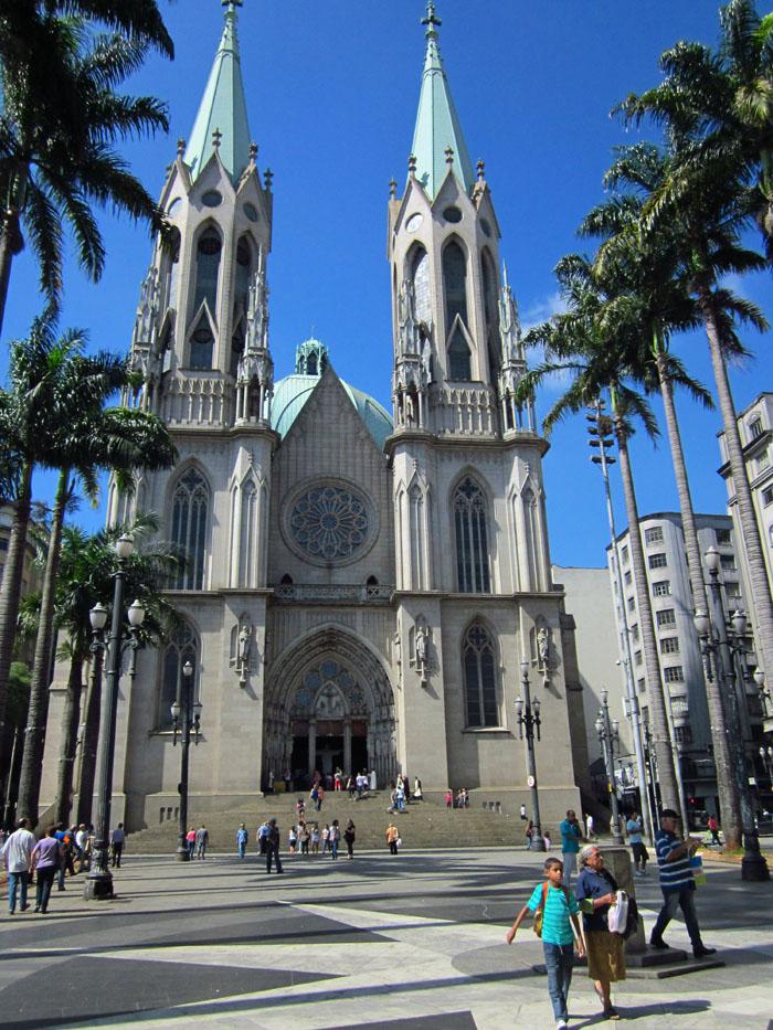 Foto van de kathedraal van São Paulo
