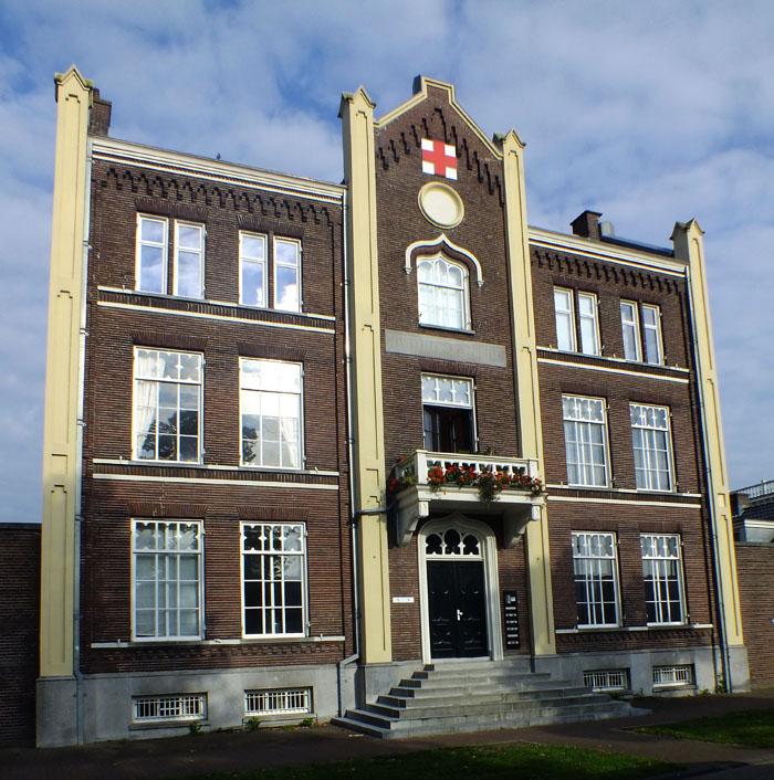 Foto van gebouw waar vroeger Tandheelkunde zat