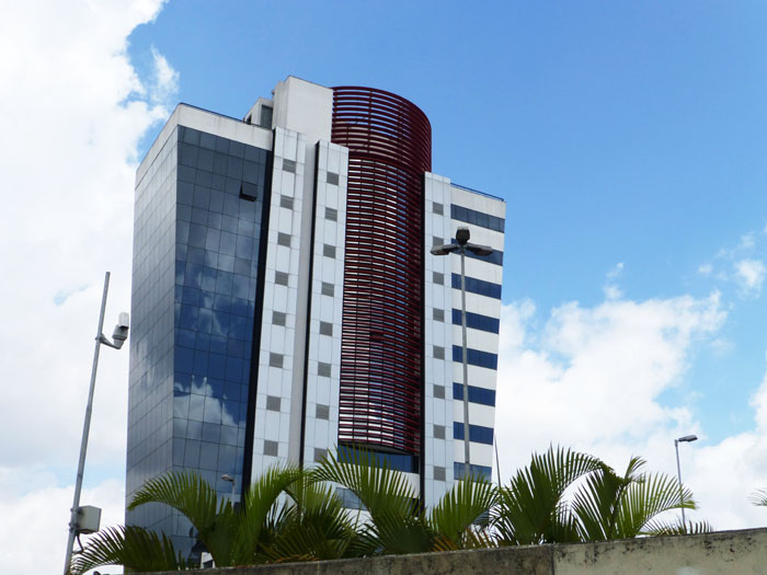 Foto van hoog gebouw