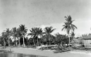 Foto van strand bij Saonek besar