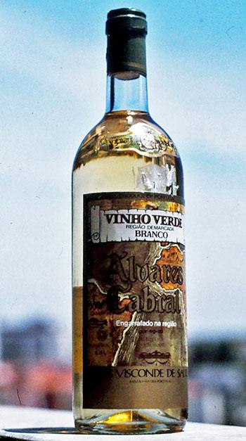 Foto van fles wijn