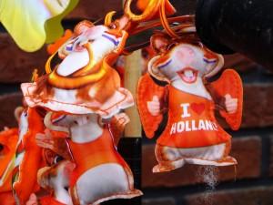 Foto van oranje hamsterpoppetjes