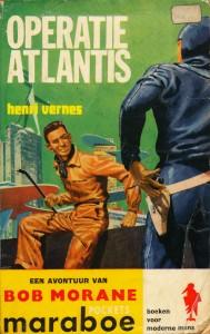 Omslag van boek Operatie Atlantis