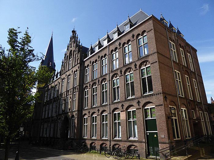Foto van gebouw conservatorium Utrecht
