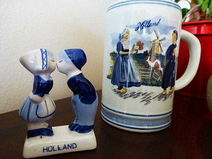 Foto van Hollandse souvenirs