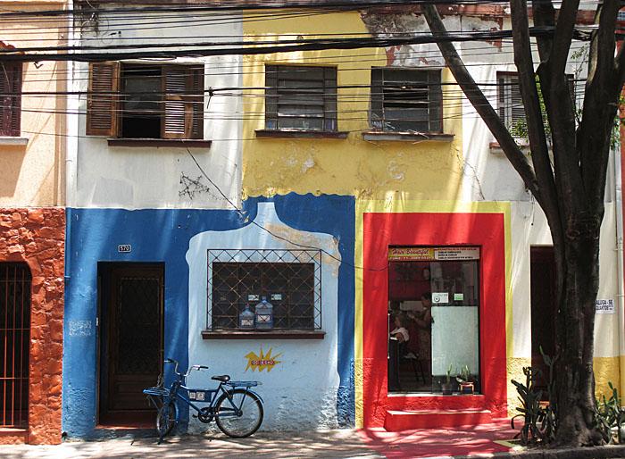 Foto van gevels in São Paulo