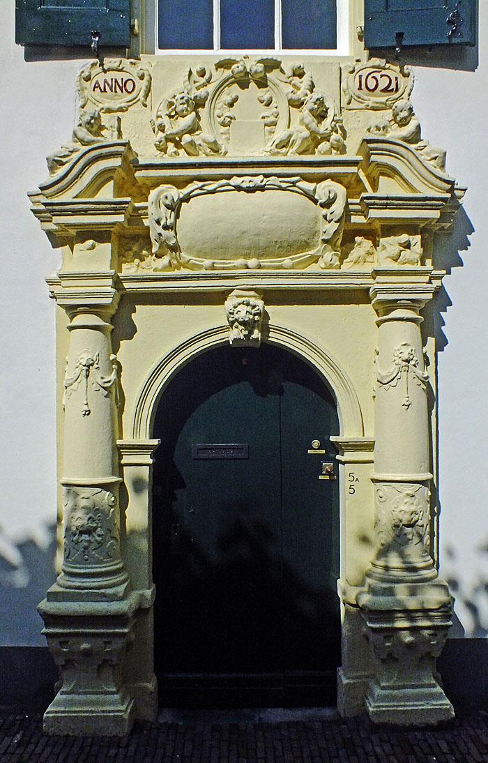 Foto van monumentale poort
