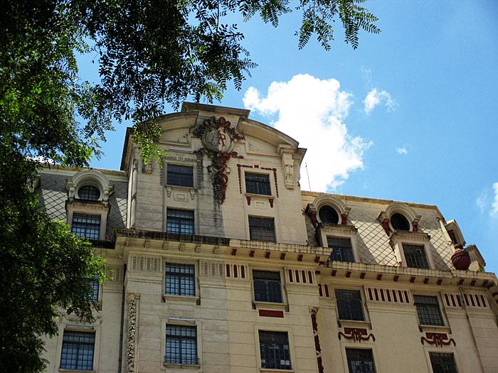 Foto van oud gebouw