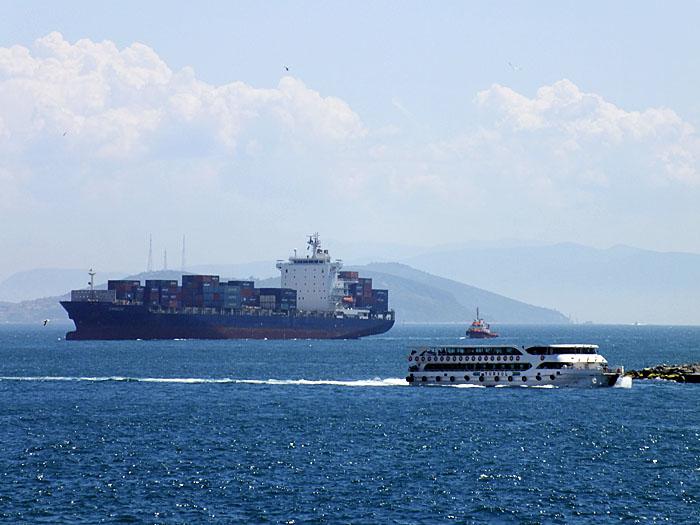 Foto van schepen op het water