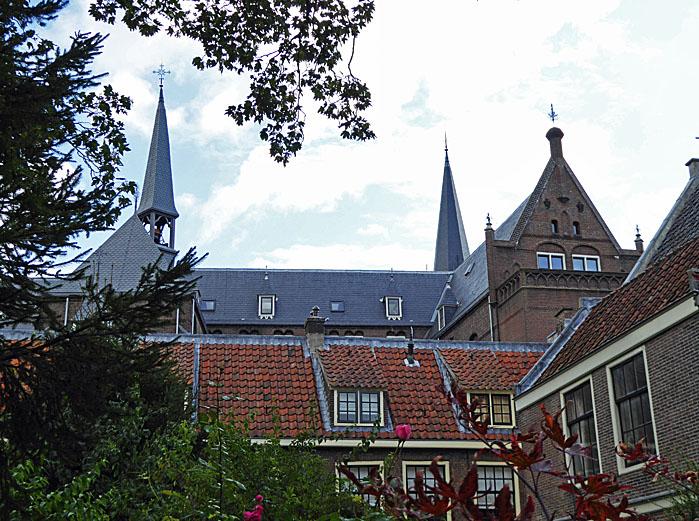 Foto van daken en torens