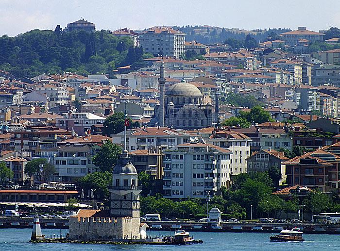 Foto van oever in Istanbul