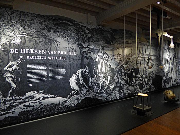 Foto van paneel van expositie