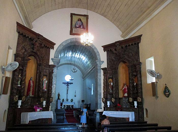 Foto van interieur kerk