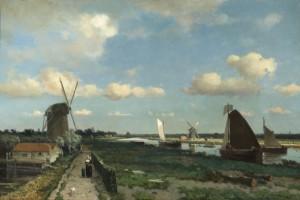 Jan Hendrik Weissenbruch, The Trekvliet, 1870, oil on canvas, 94.9 x 128.7 cm, Gemeentemuseum Den Haag.