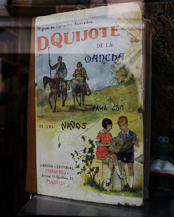 Foto van Spaans kinderboek Don Quichot