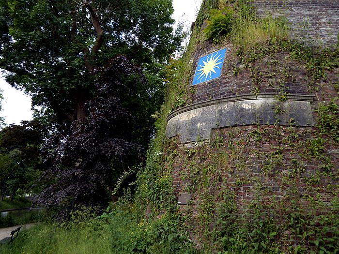 Foto van bastion (verdedigingswerk)