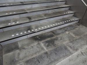 Foto van vuile trappen