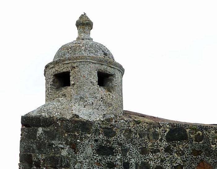 Foto van torentje van fort