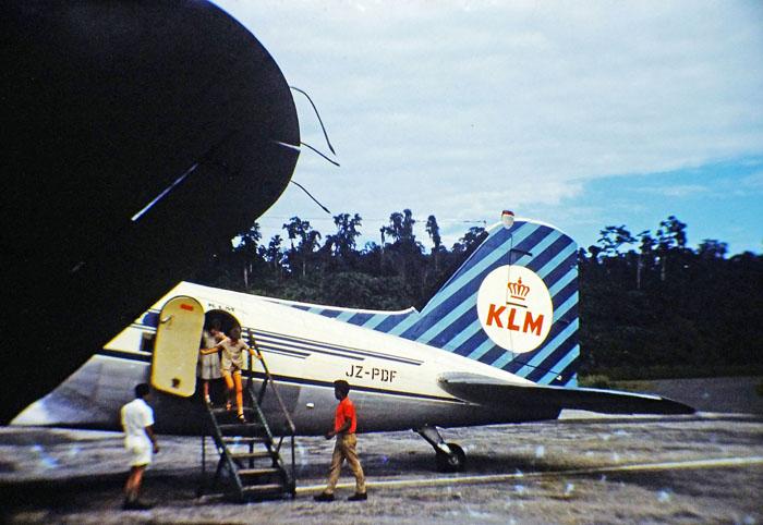 Foto van Dakota van KLM