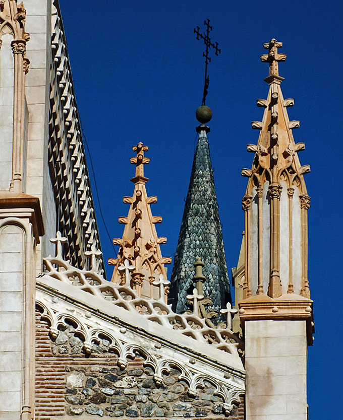 Foto van diverse torens