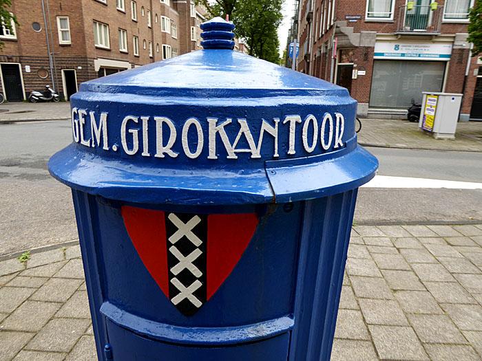Foto van brievenbus van gemeentegiro