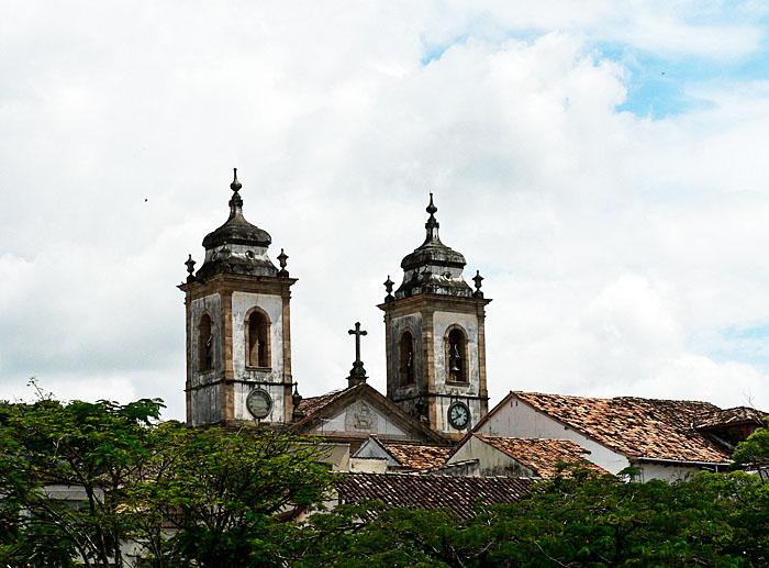 Foto van kerktorens